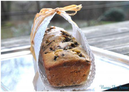 Cake ou petits gâteaux banane-chocolat