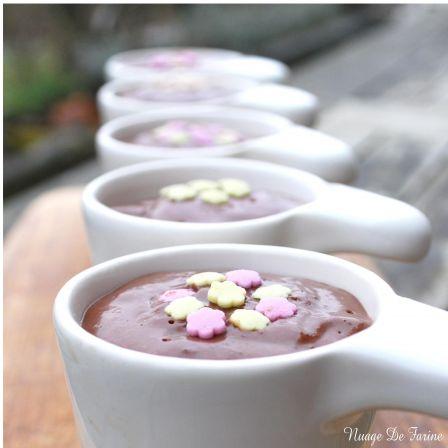Crèmes au chocolat toutes douces