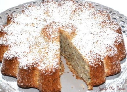 gâteau léger aux noisettes