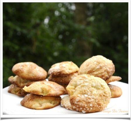 biscuits moelleux aux pêches
