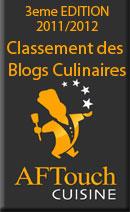 Classement des meilleurs blogs culinaires francophones