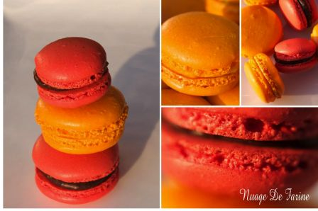 Macarons garnis, jolis, jolis, jolis…..