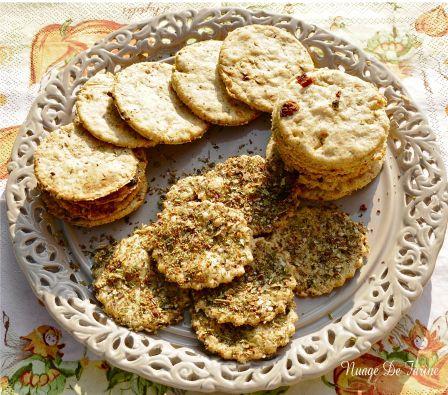 Crackers gourmands
