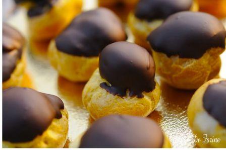 Petits choux au chocolat tout simplement….