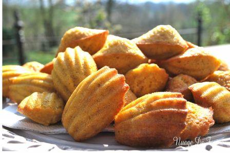 Madeleines banane-coco